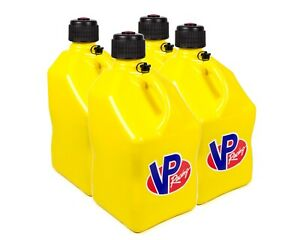 Vp Fuel Containers 3554 Utility Jug 5 Gal Yellow Square case 4 Free Ship