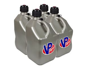Vp Fuel Containers 3604 Utility Jug 5 Gal Silver Square case 4 Free Ship