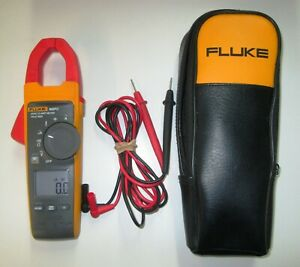 Fluke 902fc Hvac True Rms Clamp Meter Multimeter Case Leads Tested Working