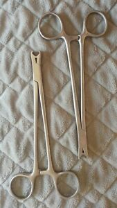 Codman 20 1039 Set Of 2 Surgical Orthopedic Neuro Scalp Clip Removable Forceps