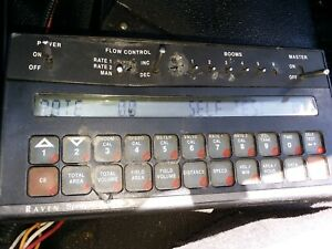 Raven Industries Scs 450 Spray Control Console 6 Boom Working Condition