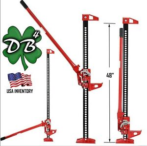 48 High Lift Farm Off road Recovery Bumper Jack 3 5 Tons 7 000 Lbs 48 Inches