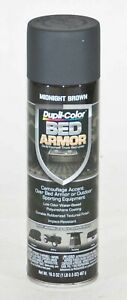 Duplicolor Bed Armor Truck Bed Liner Coating Aerosol Spray Paint Brown 16 5 Oz