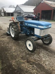 Ford 1310 Tractor Ford Finish Mower