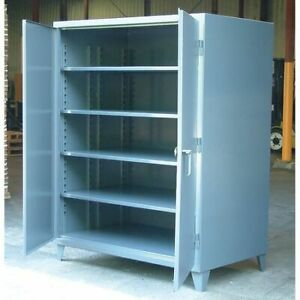Strong Hold 35 363 Storage Cabinet 12 Ga 66 In H 36 In W