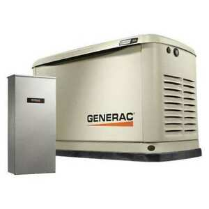 Generac 7030 9 Lp 8 Ng Kw Automatic Standby Generator 120 240vac W switch