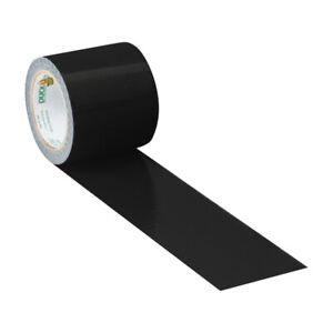 Duck 1 88 In W X 5 Yd L Black Solid Duct Tape