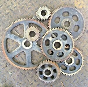 Change Gear Set Lot 10dp 14 1 2 1 25 For Machine Metal Lathe Mill Dividing Head