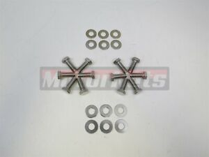 Sbc Chevy Stainless Steel Intake Manifold Bolt Kit Small Big Block Sb Bb Mopar