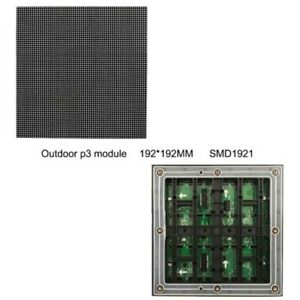 P3 Outdoor Led Module Matrix Panel Advertising Screen Full Color Rgb Board 1 16s