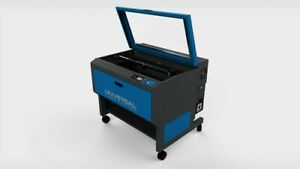 Universal Laser Pls 6 75 With Bofa Air Assist And Engraver Rotary Piece