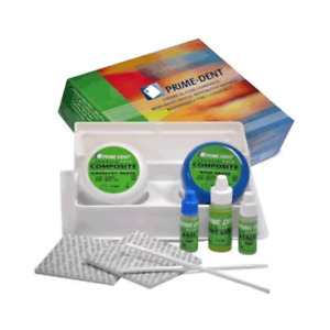 2 Packs Prime dent Chemical Self Cure Composite Kit 15gm 15gm 001 010