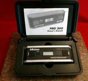 Mitutoyo 950 315 Pro 360 Digital Protractor no Spc Output