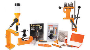 Lyman Brass Smith All-American Reloading Kit w8 Station Turret Press 7810370