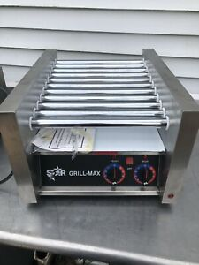 Star Grill max Pro Model 20 Table Top Hot Dog Roller Grill