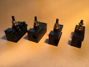 Set Of Four Quick Change Tool Holders Similar To A2z Brand New Never Used