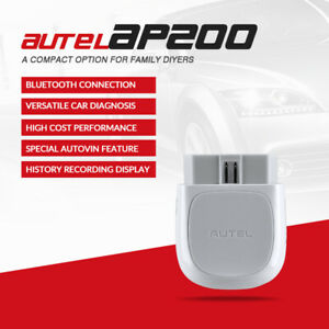 Autel Obd2 Wifi Bt Auto Diagnostic Scan Tool Reset All Systems Pk Mk808 Mx808 Us