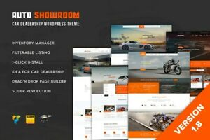 Premium Auto Dealer Wordpress Website With 3 Month Free Hosting