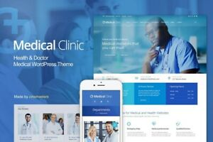 Premium Medical Clinic Wordpress Website With Free Hosting Logo