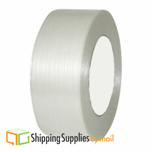 168 Rolls Economy Filament Strapping Tape 2 X 60 Yards 4 Mil Reinforced