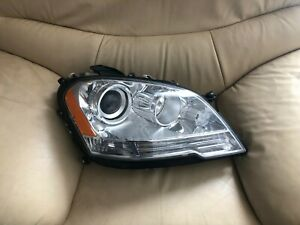 2008 2011 Mercedes Ml Oem Right Passengers Headlight oem Part 1648202459