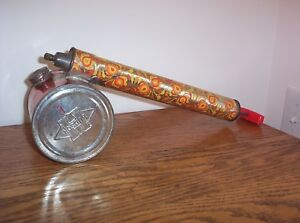Vintage Metal Hudson Comet Hand Sprayer With Tank Retro Garden Shed Decor Usa