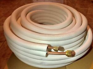 Line Set 1 4 X 1 2 X 15 Ft Flared Copper Tubing For Mini Split Air Conditioner