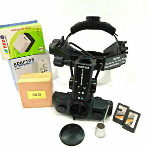High Quality Eye Indirect Ophthalmoscope With Accessories 20 D Lens Optometry