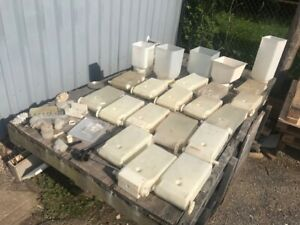 Lot Of 27 Cappuccino Coffee Machine Hoppers And Misc Parts Send Best Offer