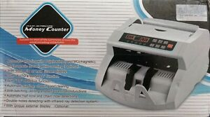 Fully Automatic Money Counter Usd Euro Dd Counterfeit Detecting Uv