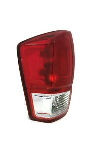 Driver S Left Side Tail Brake Light For Fits Toyota Tacoma 2016 2017 Sr Sr5