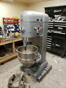 Hobart 80 Qt M802 Mixer 2 Hp Stainless Bowl Tools 12 Attachment Hub