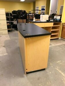 Retail Store Counter Reception Desk Point Of Sale Counter Unique Custom Us Made