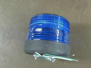 North American Signal Blue Strobe Light St500 acb