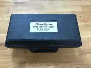 Blue Point Bmw Service Light Reset Tool 1984 And Newer Models