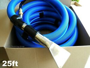 25ft Carpet Auto Interior Cleaning Vacuum Solution Hoses Detail Tool