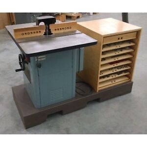 Delta Wood Shaper 43 384 With Carbide Heads Very Much More See Photos 710915