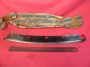 Nos Gm 1973 1976 Caprice Sport Coupe Impala Roof Right Rear Drip Molding