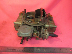 Nice 1964 1966 Chevy Ii Chevelle Impala Biscayne L79 327 275hp Holley Carburetor