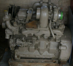 John Deere 4039t 4039tf002 4 Cylinder Turbo Diesel Engine