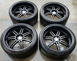Limited Edition Work Varianza T1s 20 Inch Staggered Wheels W Tire Set Ml7 wh172