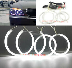 Ccfl Halo Rings For Bmw E65 E66 2006 2008 Xenon Headlight Angel Eyes Lamp Drl
