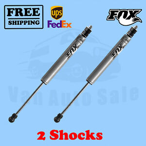 Fox Shocks Kit 2 0 1 5 Lift Front For 2011 2017 Ford F250 Superduty 4wd