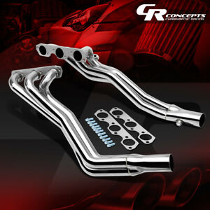 Stainless Steel Long tube Header Exhaust Manifold For 94 04 Mustang Essex 3 8l