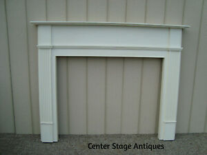 59915 Wood Fireplace Mantle