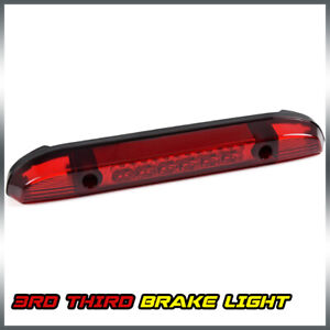 Red Led Cargo 3rd Third Brake Stop Light Lamp For 2001 2004 Nissan Frontier