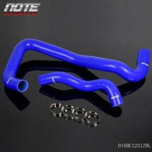 Silicone Radiator Hose For Ford 6 0 6 0l Powerstroke Diesel Blue 2005 2007