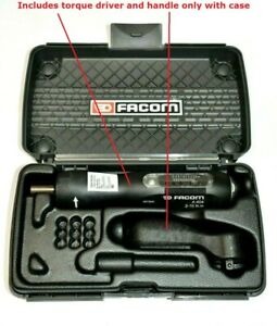 Facom A 404 Torque Driver 2 10 N M And A 200pa Handle From Set A404j2 Ref C