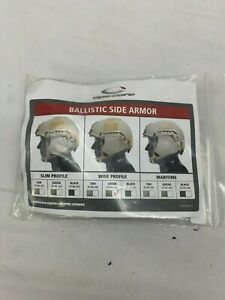OPS-CORE SIDE ARMOR - FAST For Fast Ballistic High Cut Helmets Foliage Wide