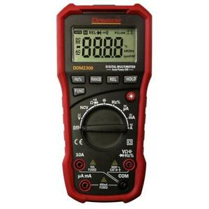 Dawson Digital Multimeter 4000 Count Lcd Display Non contact Voltage Detector